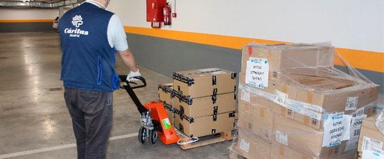 FICARA dona máquinas para colaborar contra la crisis del Covid-19