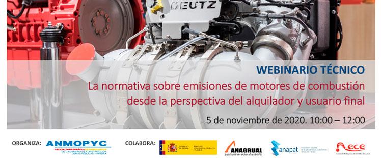 Webinar Técnico sobre Normativa de Emisiones de Motores (Fase V)